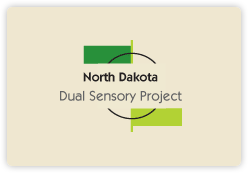 North Dakota Dual Sensory Project logo